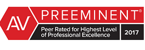 Preeminent Award-Peer Rated for Highest Level of Professional Excellence 2017