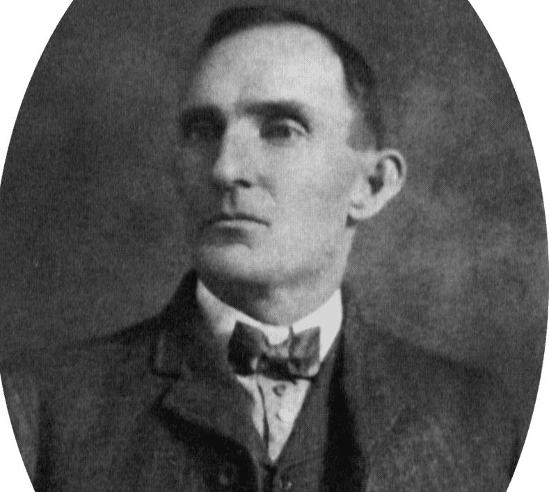 Portrait of Jim Miller the first recorded Killer in the South Plains