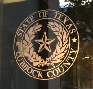 State Seal of Lubbock County Texas