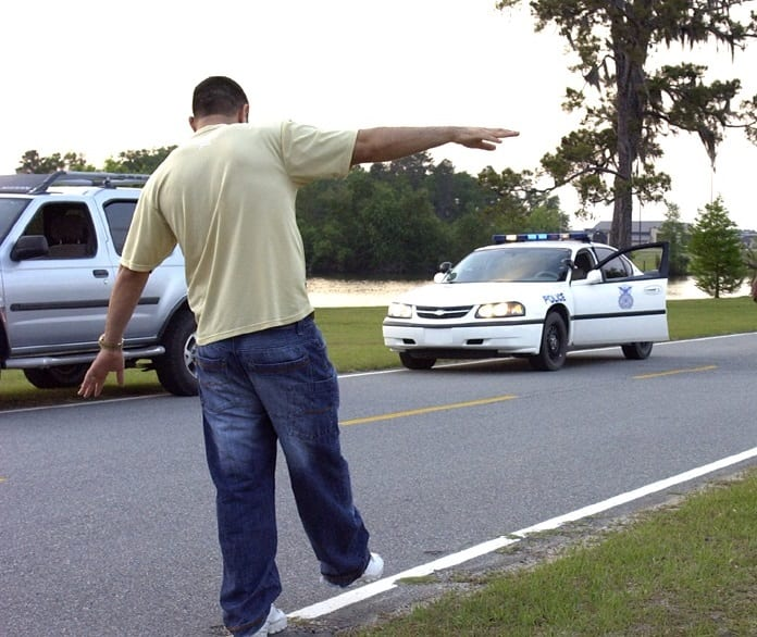field sobriety test