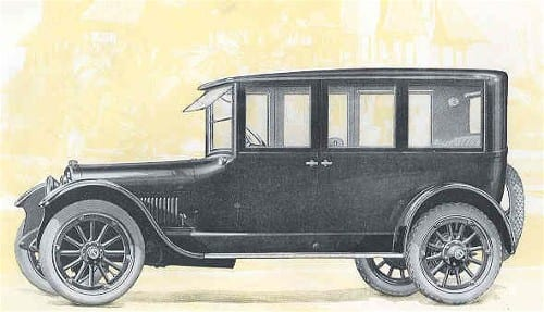 1920 Buick Touring Sedan